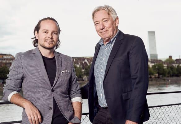 Jonas Schwarz and Stefan Schuppli, Spicker founders